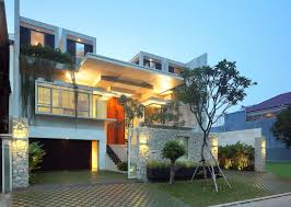 Luxury Homes Designs Interior by Luxury Garden House In Jakarta Idesignarch Interior Design