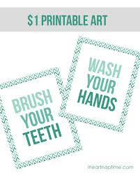 Bathroom Art Printables Bathroom Makeover On The Cheap 1 Art I Heart Nap Time
