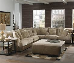 Sectional Couch With Ottoman by Glamorous Large Sectional Sofa With Ottoman 69 For Affordable
