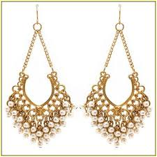 and pearl chandelier earrings pearl and gold chandelier earrings home design ideas