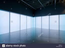 interior dance studio at laban centre translucent glass