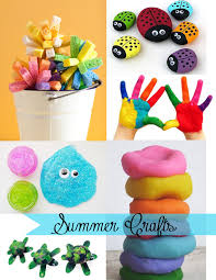 being creative to keep my sanity summer crafts for kids