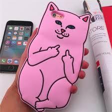 imagenes groseras de gatos funda protector iphone 6 6s gato grosero rip envío gratis 269 00