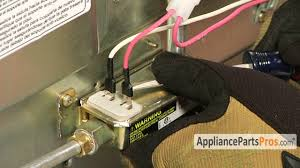 oven gas safety valve part wp98014893 how to replace youtube