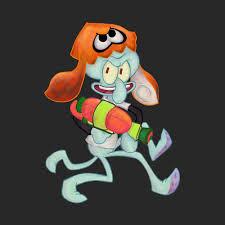 you u0027re a squidward now splatoon splatoon inkling wiiu miiverse
