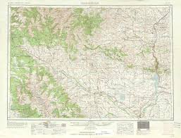 Wyoming Map Usa by Thermopolis Topographic Maps Wy Usgs Topo Quad 43108a1 At 1