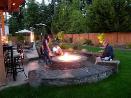 Garden Firepits Awesome Outdoor Pit Ideas Poll Patio Design Pits