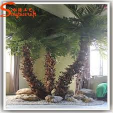 canada like neon palm tree fiber steel tree decorative hotel