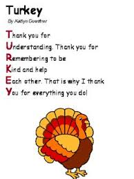 the 25 best thanksgiving poems ideas on preschool