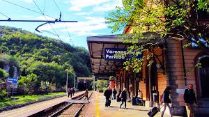 Lake Como Italy Map Lake Como Italy Pt 3 Varenna Esino Train Station With Info To