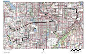 Minneapolis Metro Map by Cycling Maps Ride Boldly