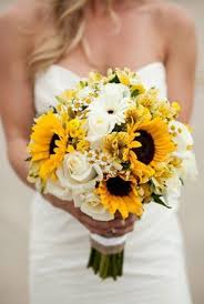 sunflower bouquets sunflower wedding bouquets centerpieces mywedding