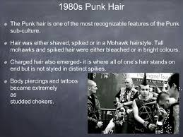 punk a sub culture what is punk punk is a sub culture that