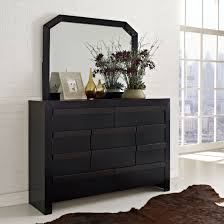 White Bedroom Dressers With Mirrors Furniture Black Wooden Storage Drawer Cabinet With Mirror