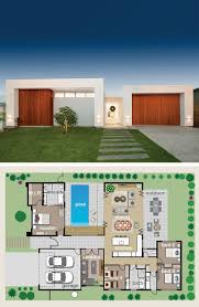 1240 best floor plans single images on pinterest architecture floor plan is designed around the pool giving every living area a glimpse of water