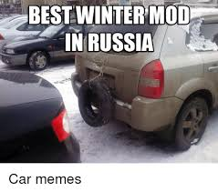 Russian Car Meme - best winter mod in russia car memes cars meme on me me