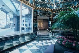 un plaza hotel u0027s postmodern ambassador grill interiors become a