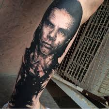 nick cave tattoo life