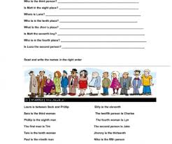 55 free ordinal numbers worksheets
