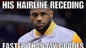 Lebron James Hairline Meme - rip lebrons hairline memes youtube