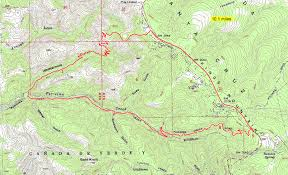 Bent Creek Trail Map Whittemore Gulch Bay Area Mountain Bike Rides