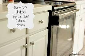 Spray Paint Brass Kitchen Knobs Spray Paint Kitchen Cabinet Pulls - Spray painting kitchen cabinets