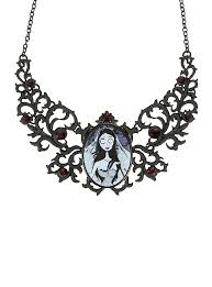 bride necklace images Corpse bride pendant cameo necklace hot topic