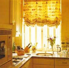 Small Kitchen Curtains Decor Yellow Kitchen Curtains Bloomingcactus Me