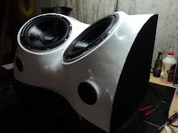 How To Build A Speaker Cabinet How To Make A Subwoofer