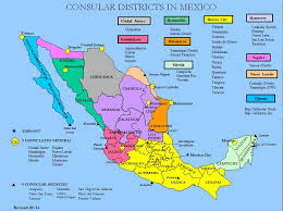 map of mixico united states map with mexico major tourist attractions