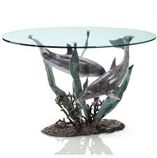 dolphin coffee tables sculpture coffee tables u2013 twilight home decor u0026 gifts
