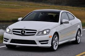 mercedes coupe c class used 2014 mercedes c class coupe pricing for sale edmunds