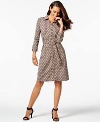 charter club iconic print shirt dress only at macy u0027s dresses