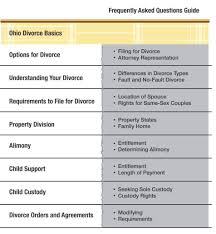Florida Child Support Guidelines Worksheet 50 Questions And Answers About Ohio Divorce Cleveland Divorce