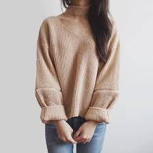 choker cropped sweater 4 colors megoosta fashion free