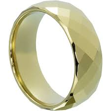 Gold Wedding Rings For Men by Men U0027s Faceted Gold Wedding Band For Men And Women Forever Metals