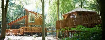 luxury treehouse holidays breaks in the uk