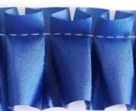 pleated ribbon ribbon cord twine pleated ribbon admiral blue 1 jpg
