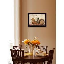 dining room framed art trendydecor4u 14 in x 18 in