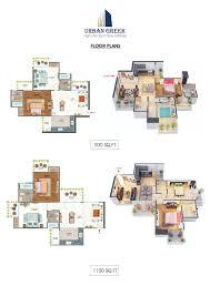 antriksh urban greek floor plan