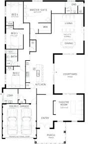 large 1 story house plans house plans single story image gallery of astounding ideas 7