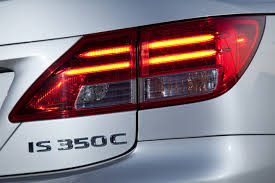 lexus headlight wallpaper road test review 2014 lexus is250c f sport is top down