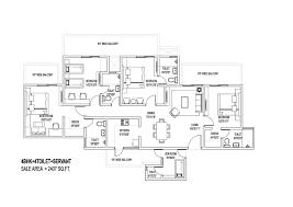 Central Park Floor Plan by Central Park 3 The Rooms Floors Villas At Flower Valley Sohna