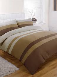 king size duvet set natural brown tan striped king size quilt