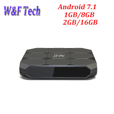 pro android s8 pro android 7 1 smart tv box amlogic s905w 1gb 8gb 2gb 16gb 2 4