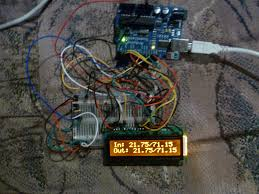 arduino your home u0026 environment two ds18b20 temp sensors on lcd