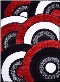 amazon com royal collection black red white abstract contemporary