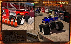 monster truck stunt show monster truck stunt parking 3d android apps on google play