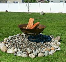 Build Backyard Fire Pit - fire pit diy ideas anyone can make the weathered fox