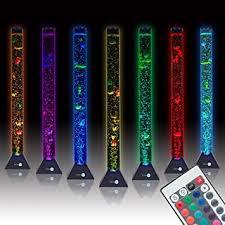 sensorymoon 3 9 ft bubble tube floor lamp w 10 fish 20 color